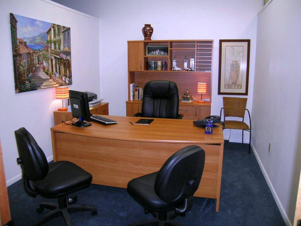 Tranh phong cảnh phòng làm việc tạo nên sự may mắn cho chủ nhà