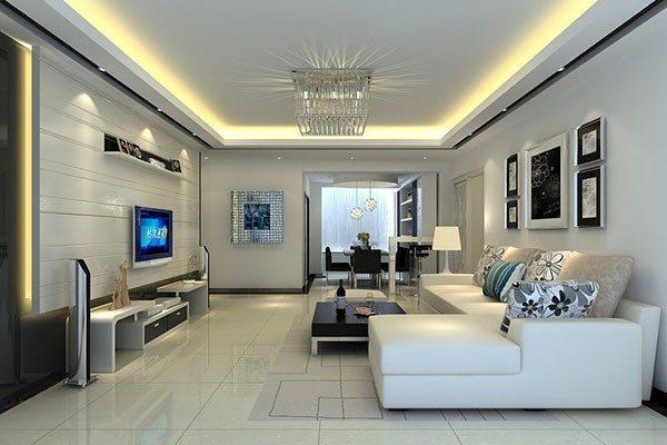 Thiết kế phòng khách hiện đại giúp cho ngôi nhà bạn trở nên sang trọng hơn